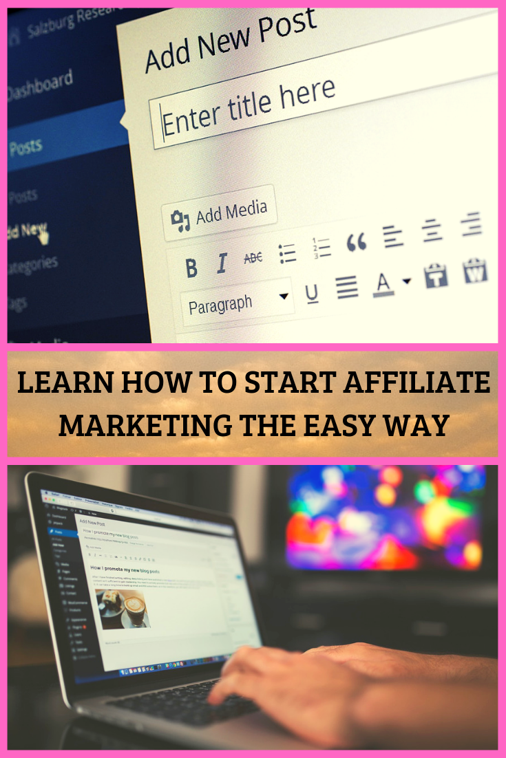 How To Start AFFILIATE MARKETING THE EASY WAY